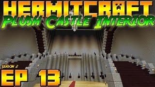 Minecraft Hermitcraft Vanilla - S2E13 - Plush Castle Interior