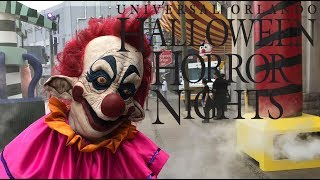 Halloween Horror Nights 2018 Universal Orlando Tour & Review with The Legend