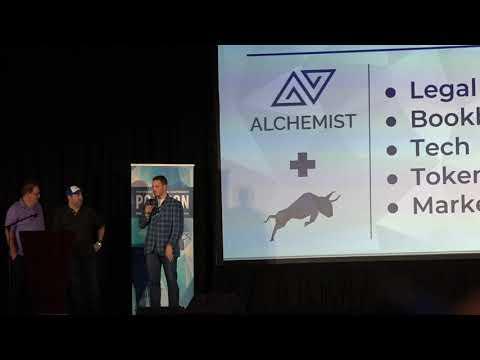 Trevor Koverko, CEO of Polymath, special announcement speech at POLYCON18