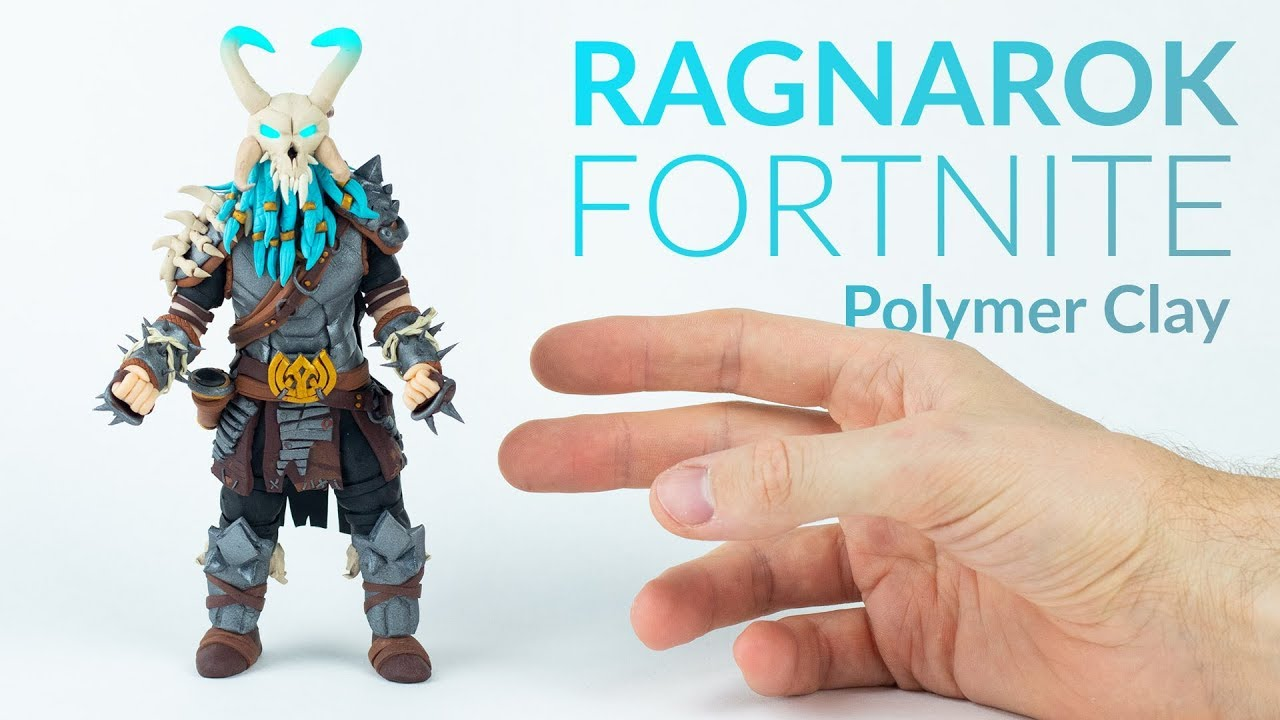 Ragnarok Fortnite Battle Royale Polymer Clay Tutorial Youtube
