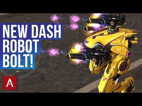 War Robots NEW Robot BOLT Has Dash Ability / Bolt Gameplay   WR