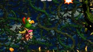 Donkey Kong Country 2 102% Walkthrough : Krazy Kremland - Target Terror