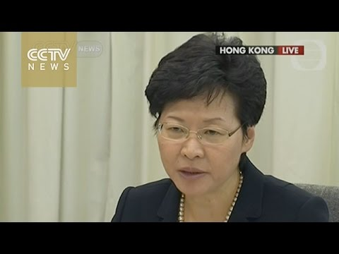 HK gov't and students begin dialogue