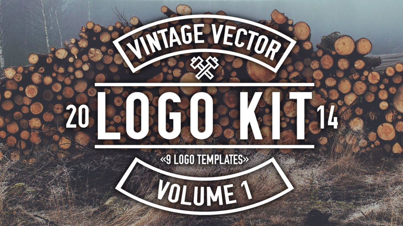 Vintage Vector Logo Kit - Overview and How-To