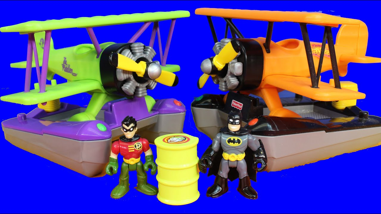 Imaginext Exclusive DC Super Friends Batman Robot & The ... |Imaginext Riddler