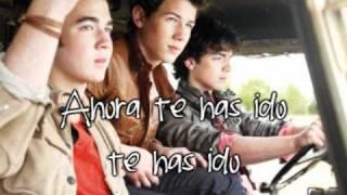 Don't speak Jonas Brothers- Traducida al español