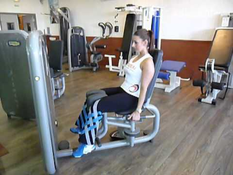 exercice de musculation abducteurs machine youtube. Black Bedroom Furniture Sets. Home Design Ideas