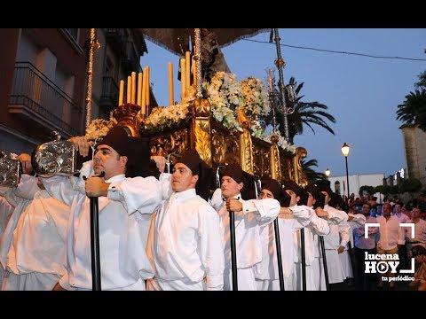VÍDEO: Fragmentos de la procesión de la Virgen del Carmen en Lucena