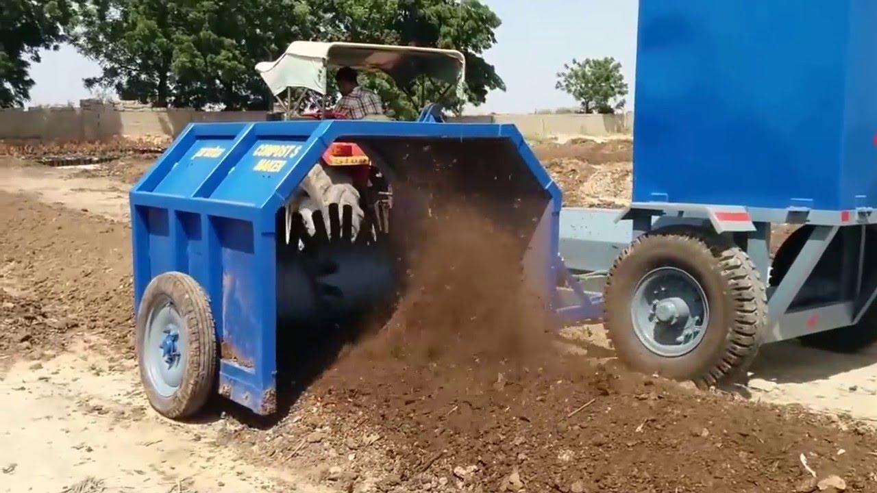 Compost Making Machine Youtube