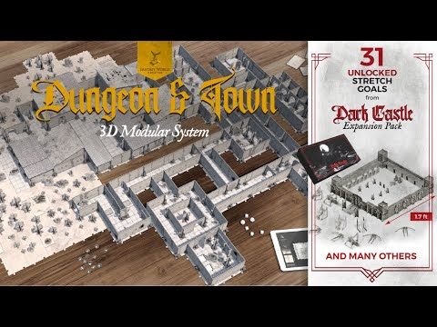 Fantasy World Creator - Dungeon&Town - Official Video
