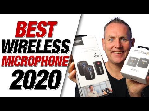 Best Wireless Microphones 2020 (Camera, iPhone & Android) - Saramonic Blink 500 + Rode Wireless Go