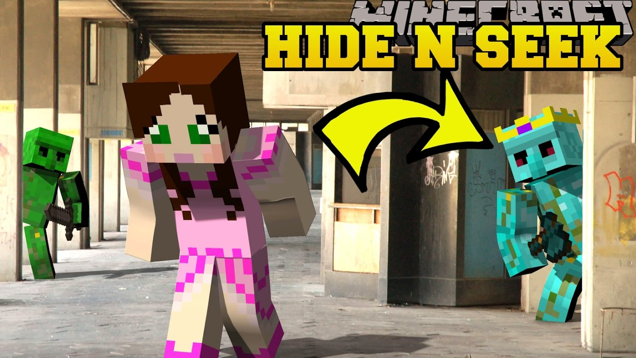 minecraft diamond golems hide and seek morph hide and seek modded mini game youtube. Black Bedroom Furniture Sets. Home Design Ideas