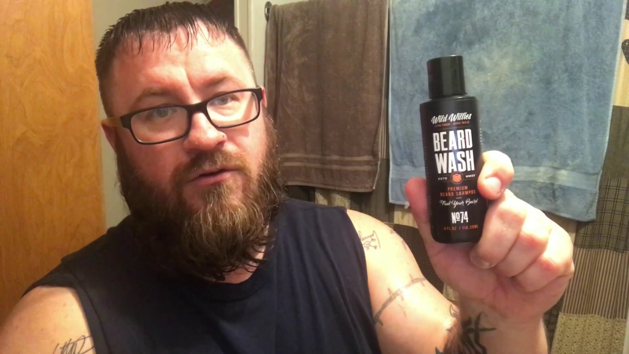 Wild Willie's Cool Mint Beard Oil and Balm and Wash Review and How To Use  Tutorial
