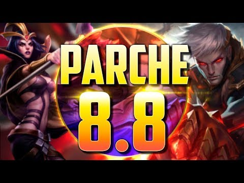 VUELVE LA ANTIGUA LEBLANC | Parche 8.8 (League of Legends)