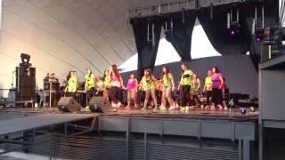 Espectáculo el tiburon fiestas hortaleza 2014