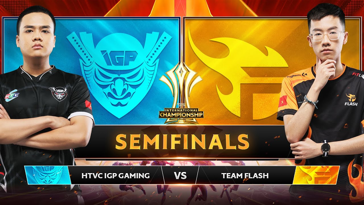 TEAM FLASH VS HTVC IGP GAMING – Bán Kết AIC 2019 – Garena Liên Quân Mobile