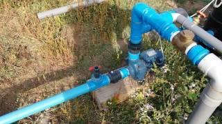 Sistema impulsor para riego a baja  presión en cinta exudante