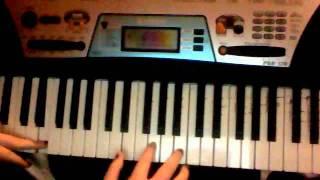 Demi Lovato Skyscraper Piano tutorial (notes in down bar)