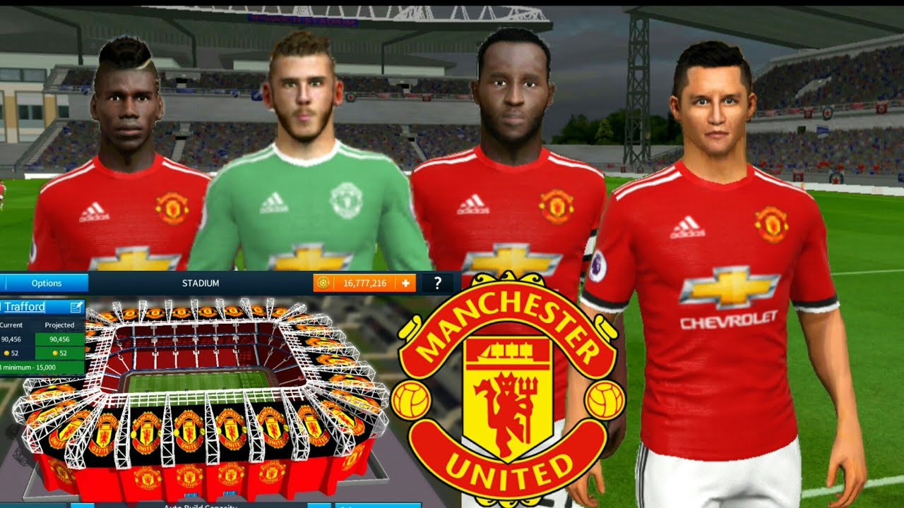 2c4615ff4 How To Hack Manchester United 2018 ○ All Players 100 ○ Change Stadium ○  Dream League Soccer 2018