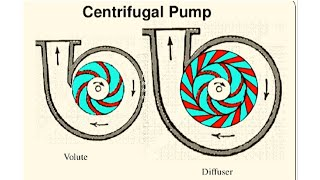 What is the |difference between |Volute| and Diffuser| Pumps ?