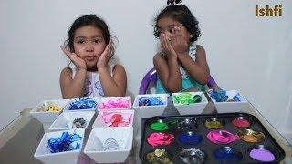 Kids Play Peek A Boo I see you and Learn Colors with Painting Princess and PJ Mask | Ishfi