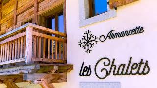 Armancette Chalets Mont Blanc