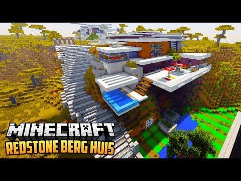BERG REDSTONE HUIS - Minecraft Redstone Showcase