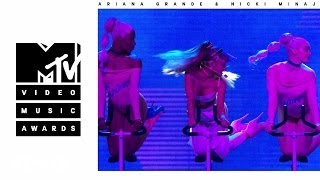 Ariana Grande - Side To Side (Live from the 2016 MTV VMAs) ft. Nicki Minaj thumbnail