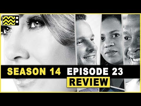 Grey's Anatomy Season 14 Episode 23 Review & Reaction   AfterBuzz TV