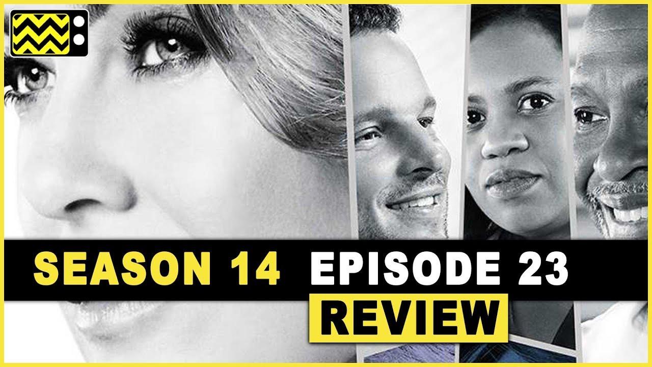 Grey\'s Anatomy Season 14 Episode 23 Review & Reaction | AfterBuzz TV ...