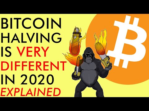 BITCOIN HALVING IS VERY DIFFERENT IN 2020 (EXPLAINED) – $10,000 KEY PRICE RESISTANCE