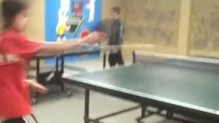 Table tennis epic smash!