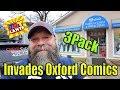 3 Pack Invades Oxford Comics and Games, Toylanta 2019