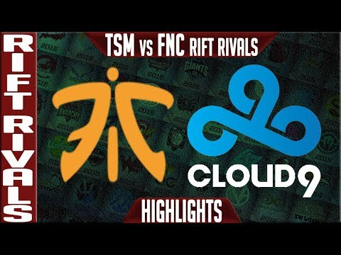 FNC vs C9 Highlights Game 1 Bo5 | Rift Rivals 2019 NA vs EU | Fnatic vs Cloud9