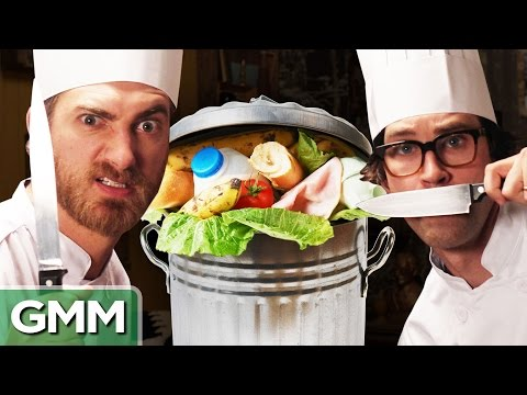 Dumpster Food Challenge ft. SORTEDfood