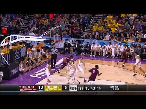 Michigan vs Montana: First-half highlights