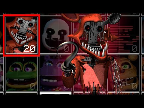 Withered Foxy without the face in UCN! +Jumpscare! (UCN Mods)
