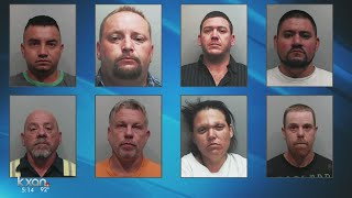 19 suspects connected to crime ring that spanned multiple counties thumbnail