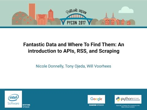 Image from Fantastic Data and Where To Find Them: An introduction to APIs, RSS, and Scraping
