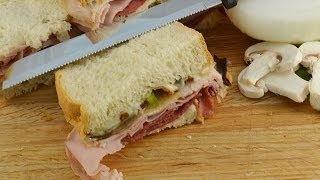 How To Make Hot Deli Sandwiches - Campfire Recipe   Radacutlery.com