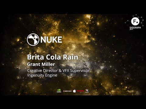 Using NUKE on Brita Cola Rain - Ingenuity Engine at SIGGRAPH 2014