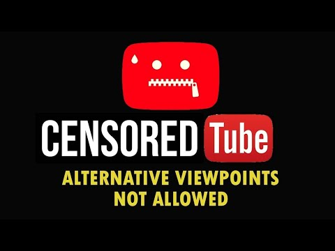 CENSORED TUBE : YouTube's Latest Censorship Method @ Flat Earthers & Christians..... thumbnail