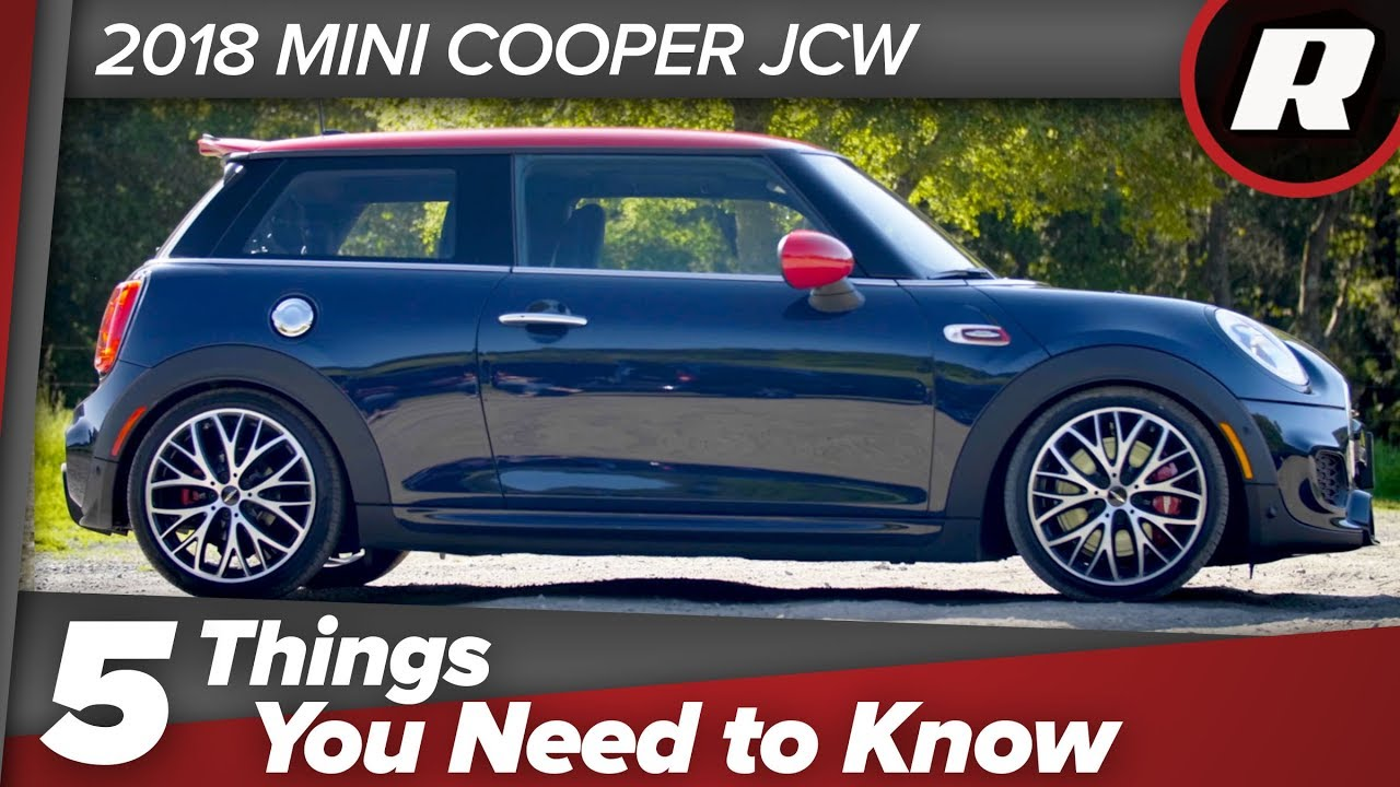 Five things to know: 2018 Mini Cooper John Cooper Works JCW