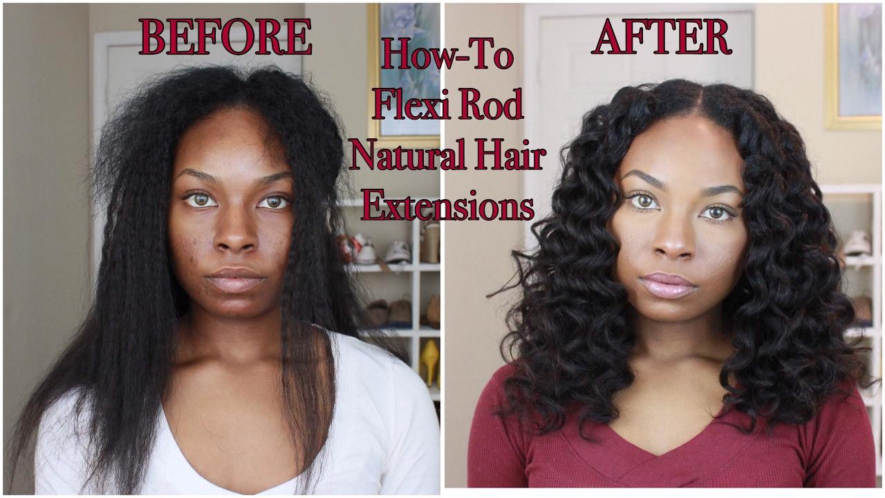 flexi rod natural hair