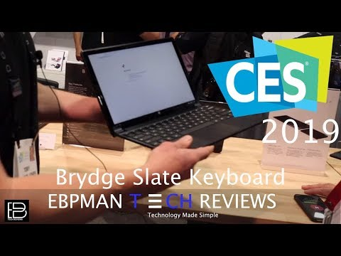 CES 2019 | Best Keyboard for the Google Pixel Slate from Brydge