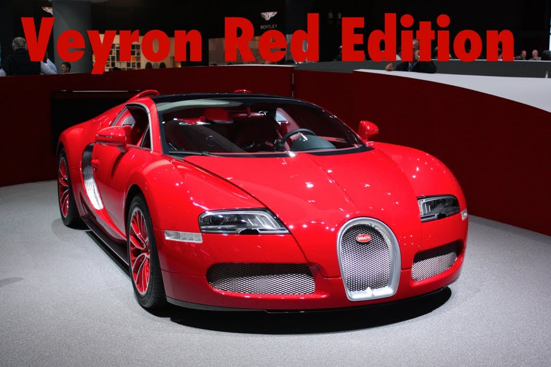 bugatti veyron grand sport red edition from california youtube. Black Bedroom Furniture Sets. Home Design Ideas