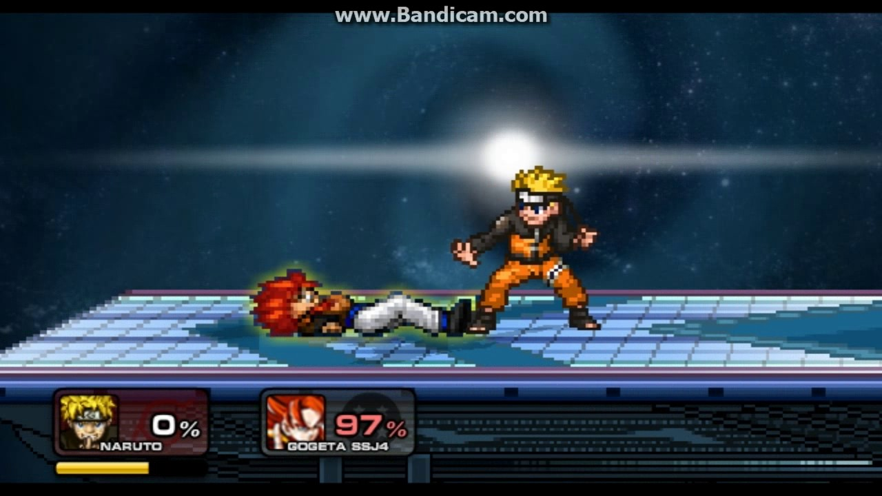 SSF2 Broken Naruto start as kyuubi by hakuno kishinami