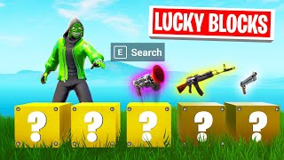 LUCKY BLOCKS Choose Your LOOT In FORTNITE! (*NEW* GAME MODE)