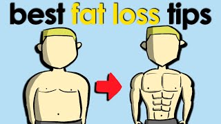 The 4 Best FAT LOSS Tips! (Lose Fat Fast and Effectively)