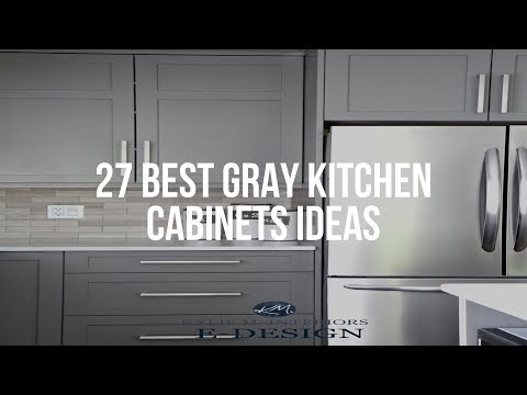 🔴 27 Best GRAY KITCHEN CABINETS Ideas